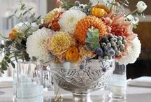 ~Fall Entertaining~ / I love the rich palate of vibrant Fall colors! Autumn evokes the need to nurture our soul with tantalizing menus, added textural elements, and reaching out with heart-warming love to others. / by Lauren Knightsbridge