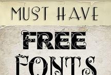 Computer Fonts / by Barbara Farnsworth
