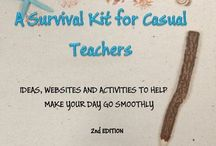casual teaching ideas / by Nikki Tester