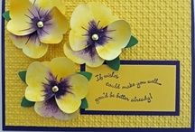 Cards Flowers / by Donna Curtis