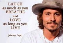 Johnny Depp  / Actor / by Mary Casey
