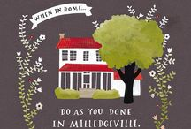 Home Sweet Milledgeville / by Abby Norman