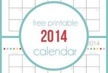 Calendarios - Calendar / by Ana Leal