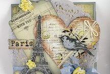 Cards - Paris oh la la / by Ana Leal
