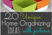 Organization & cleaning / by Heather Myatt