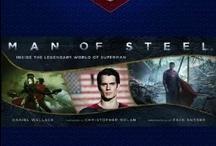 Man of Steel / Inside the Legendary World of Superman -  http://www.insighteditions.com/Man-Steel-Inside-Legendary-Superman/dp/1608871819 / by Insight Editions