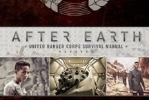 After Earth / The United Ranger Corps Survival Manual  - http://www.insighteditions.com/After-Earth-Robert-Greenberger/dp/1608872351 / by Insight Editions