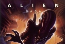 Alien Saga / The Poster Collection - http://www.insighteditions.com/Alien-Saga-The-Poster-Collection/dp/1608872289 / by Insight Editions
