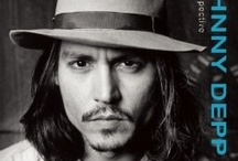 Johnny Depp / A Retrospective - http://www.insighteditions.com/Johnny-Depp-Retrospective-Steven-Daly/dp/1608872599 / by Insight Editions