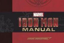 Iron Man Manual / Iron Man Manual - http://www.insighteditions.com/Iron-Man-Manual-Daniel-Wallace/dp/1608872750 / by Insight Editions