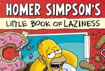 Vault of Simpsonology / Homer Simpson's Little Book of Laziness | http://www.insighteditions.com/Homer-Simpsons-Little-Book-Laziness/dp/1608872262  / by Insight Editions
