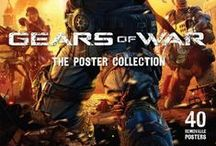 Gears of War / The Poster Collection - http://www.insighteditions.com/Gears-Poster-Collection-Epic-Games/dp/1608872963 | Judgment Hardcover Ruled Journal - http://www.insighteditions.com/Gears-Judgment-Hardcover-Ruled-Journal/dp/B00F63UJUC / by Insight Editions