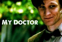 My Doctor, the Eleventh Doctor / A tribute to Matt Smith, the 11th man to play the Doctor. / by Erin Davis