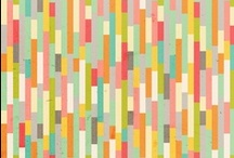 repeating patterns / graphic / by Kathleen Gittleman