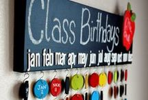 Classroom. / by Meggan Sigwarth