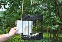 Rustic Backyard Wedding Ideas / Rustic, casual, outdoor backyard wedding ideas.  Mason Jars, Paper Umbrellas, Décor, sunflowers. / by Weddingfavours.ca