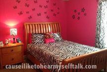 Teen Girl Bedroom Decor / by Rae Hoffman