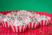Christmas - Goodies / Appetizers, desserts, drinks & other foods to make at Christmas for a wonderful holiday dinner, party or any other holiday occasion.  :o) / by Peggy Butler