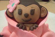 Fondant cake & cupcake toppers / by Lori N Jr Mitchell