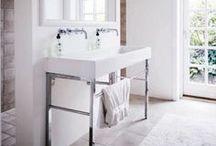 bathrooms / by Ann Marie Heasley | whitehouseblackshutters.com