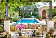 Outdoor Spaces / Ideas for enjoying outdoor spaces / by Jerriann Sullivan