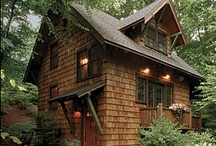 a cottage in the country / by Brenda Whittington