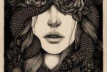 art + illustration / by Amanda Keeys