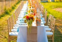 dinner party in a field / by Aleah and Nick | Valley & Co.