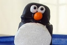{Penguin} Party / Penguin or winter party ideas and inspiration on www.partyfrosting.com / by Party Frosting