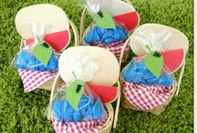 {Ant Picnic} Party / Ants go marching watermelon picnic party ideas and inspiration on www.partyfrosting.com / by Party Frosting