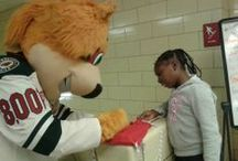 Nordy & Me / #mnwild mascot, Nordy, poses with fans.  / by Minnesota Wild
