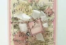 CARDS...Shabby Chic / Ideas for creating shabby chic greeting cards. / by Kay Howell