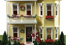 Dollhouses, Dolls & Miniature Whatever / dollhouses small dolls and miniatures / by Alicia G