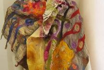 Nuno....Nuno Felting / I think I must be obsessed with Nuno Felting....! / by Kay Howell