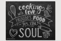 Cooking with L0VE / Cooking is like love. It should be entered into with abandon or not at all. Harriet Van Horne / by Nancy Morgan