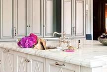 Kitchens ~ Gray & White / by Liesl Leman