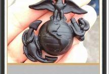 Oorah! / Married a Marine, Raised a Marine. They are always faithful! / by Christine Salinas