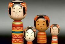 Japan - Kokeshi + Peg Dolls / by Colbysma