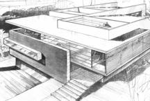 Architectural draws and renders / by Roberto Jose Castañeda Renteria