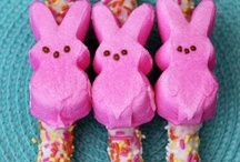 Marshmallow Peeps / This board is for my daughter Tatum, she LOVES peeps! / by Karen D