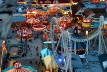 Carnivals, Carousels + Cotton Candy / by Angie Morris
