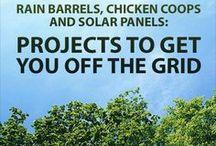 Energy Savings & Off Grid Living / by Angie Morris