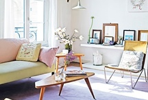 Interior and home ideas / Ideas and inspiration for my home. I love the combination of vintage, second hand furniture and design. / by Marloes de Vries