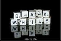 All things Black & White / Black & White / by Lea Lambert