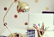 Chic Workspace  / by Rachael Crawley Sigsbee