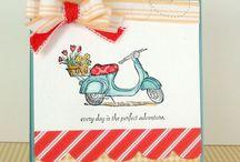 …rubber stamp love... / by Julie Beach