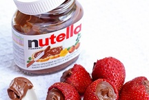Nutella-Who Knew?  / My son recently started eating nutella and he loves it. I had no idea there were so many things to make w/Nutella. / by lisa_ranae