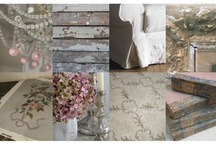 """SHABBY CHIC / PRAIRIE HOME / I love the real """"shabby chic"""" decor. Not the cluttered, cloyingly cute & flowery decor ( as shabby chic is thought of by some), but rather, rustic, modern, simple and sooo dreamy! / by Karen Haskett"""