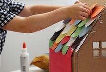 Cardboard Houses / by Davina Drummond