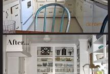 White vintage kitchen inspirations..... / by Recycled Luxury